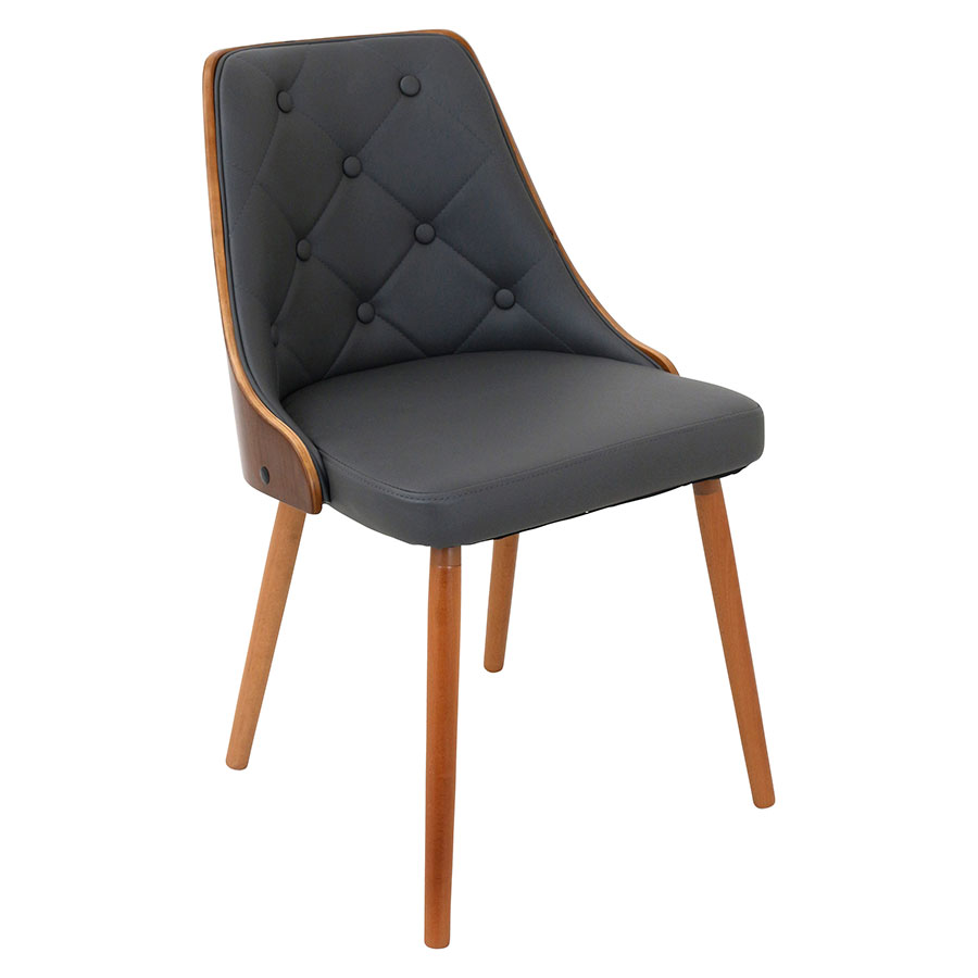Gigi Gray Modern Side Chair