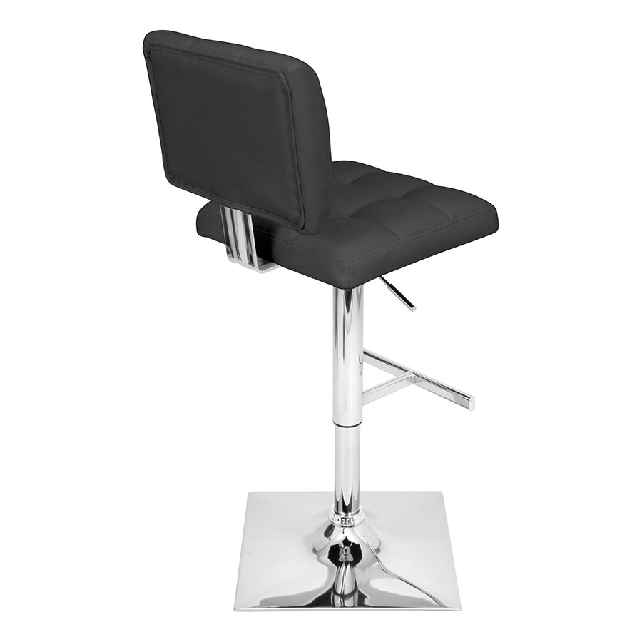 Giselle Black Adjustable Modern Stool