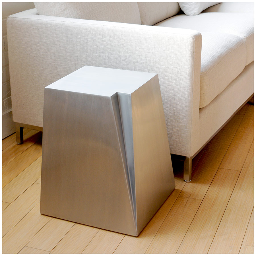 Glacier Modern Side Table by Gus Modern