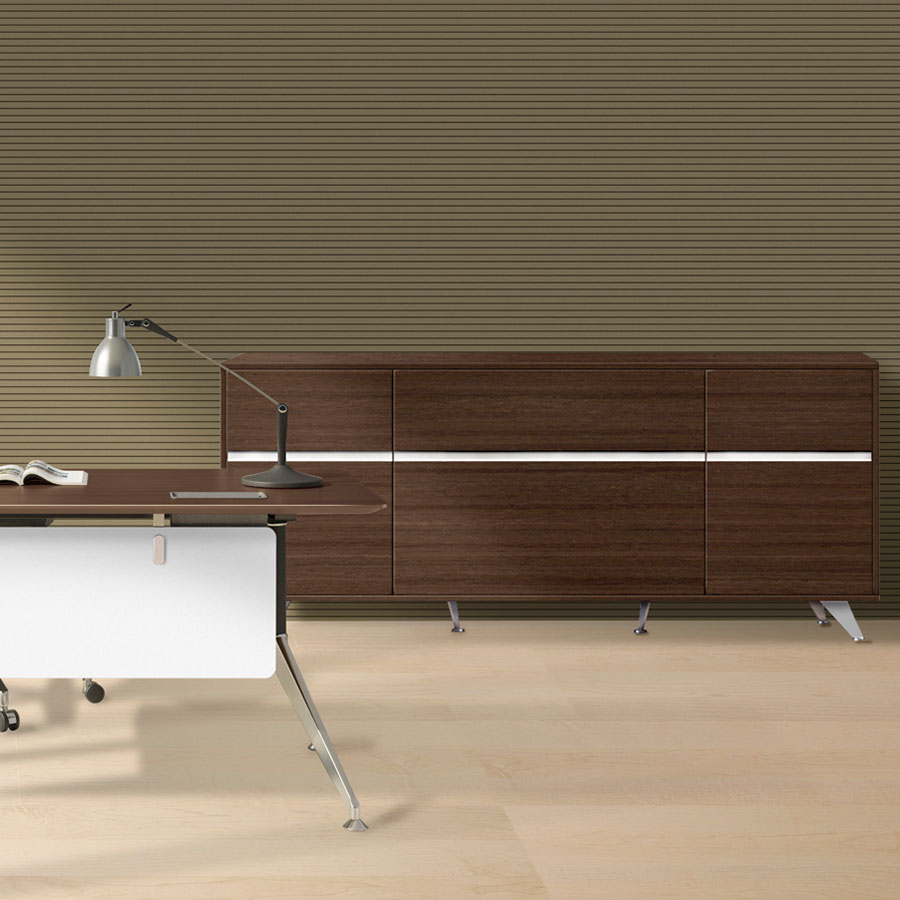 Gothenburg Modern Walnut Credenza