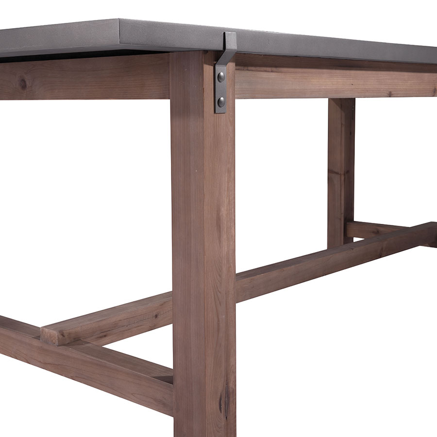 Greenland Modern Dining Table - Detail View