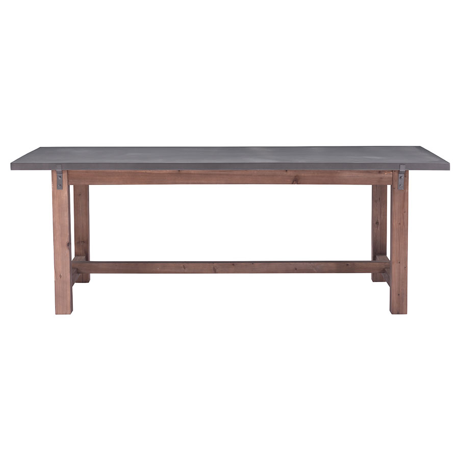 Greenland Modern Dining Table - Side View
