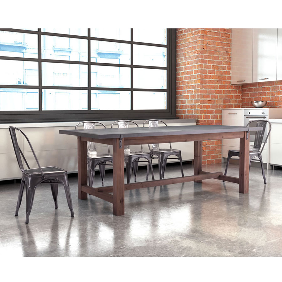 Greenland Modern Dining Table + Eli Chairs