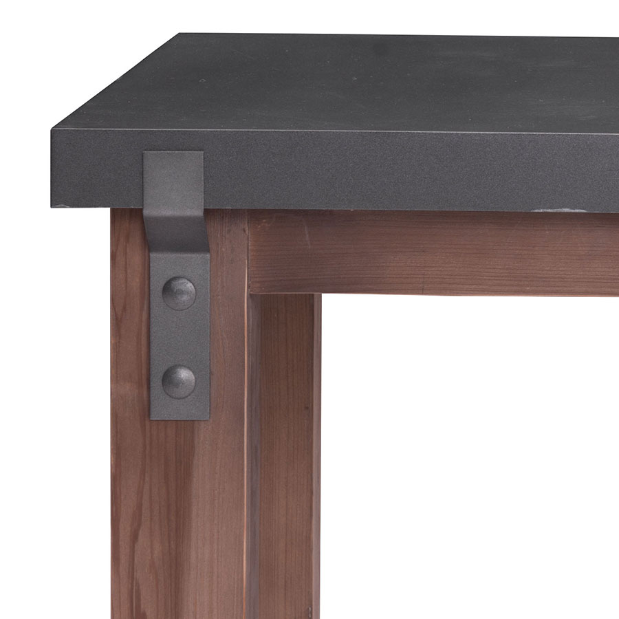 Greenland Modern End Table - Hardware Detail