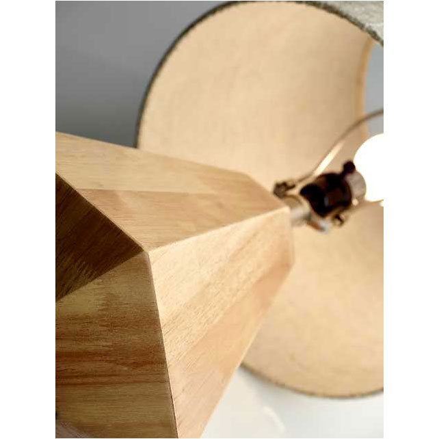 Gretel Natural Contemporary Table Lamp