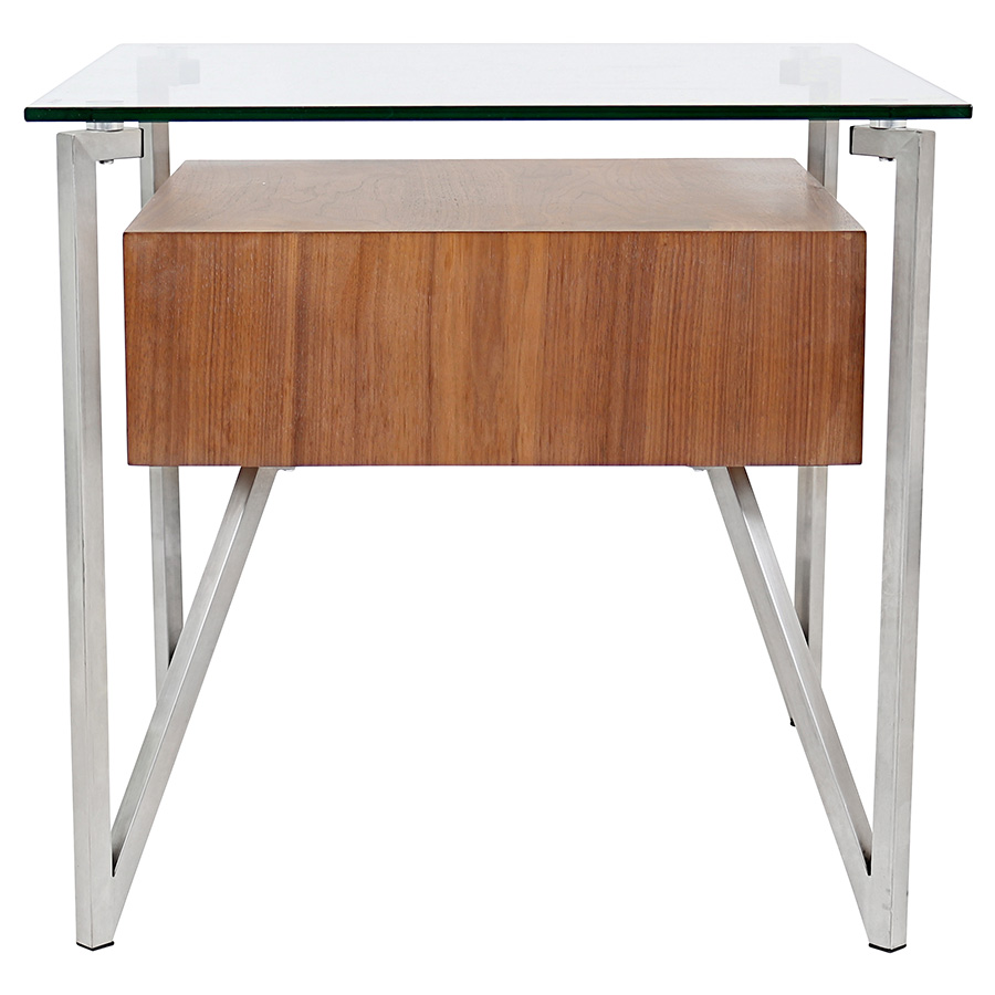 Hanover Modern End Table - Back View