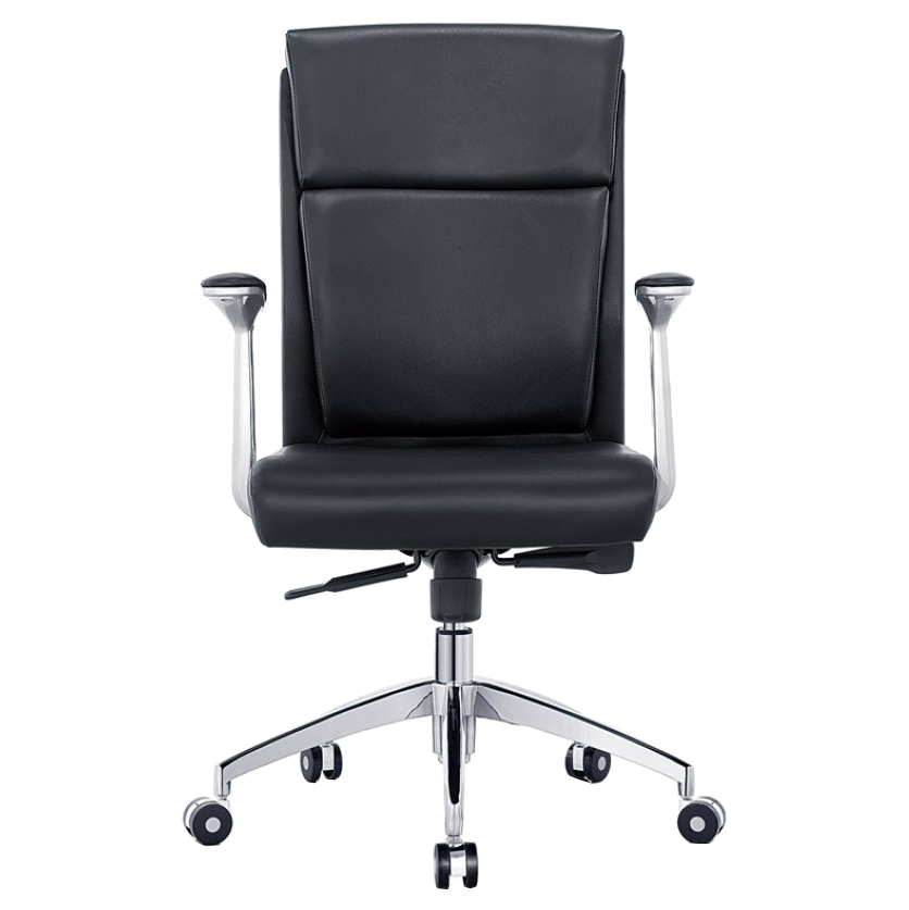Harvard Black Modern Office Chair