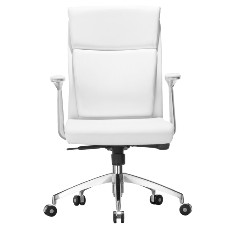 Harvard White Contemporary Office Chair