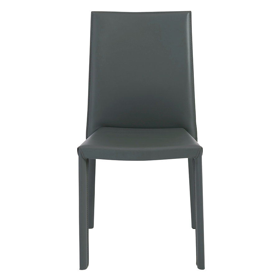 Hasina Gray Contemporary Stacking Chair