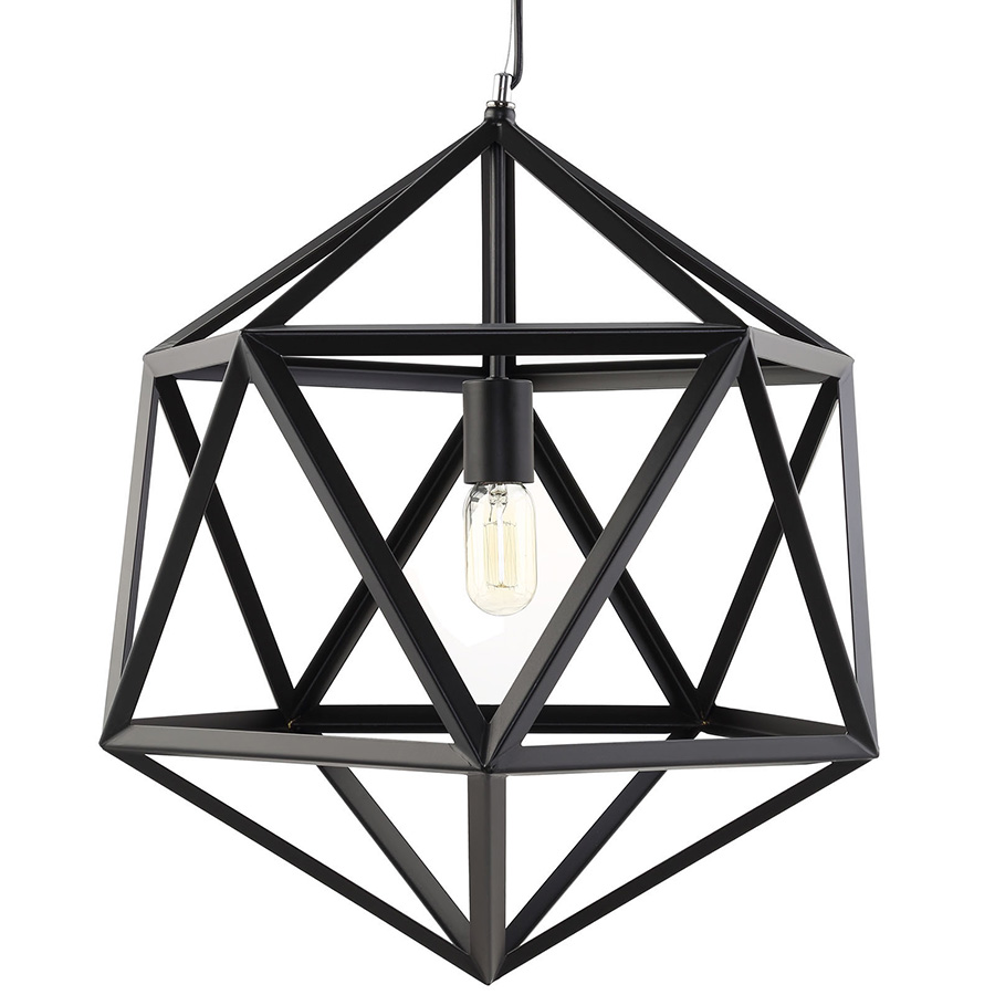 Helio Large Modern Hanging Lamp Detail