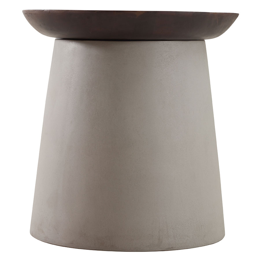Henda Contemporary End Table
