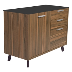 Hillard Modern Sideboard w/ Black Top