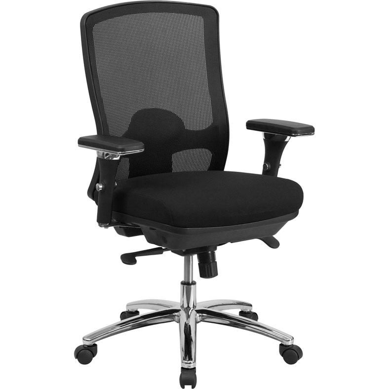 Hunter Black Office Chair