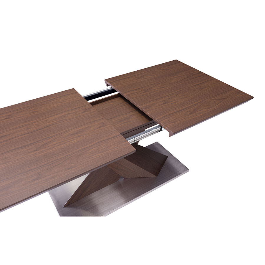 Jackson Modern Extension Dining Table - Opening2
