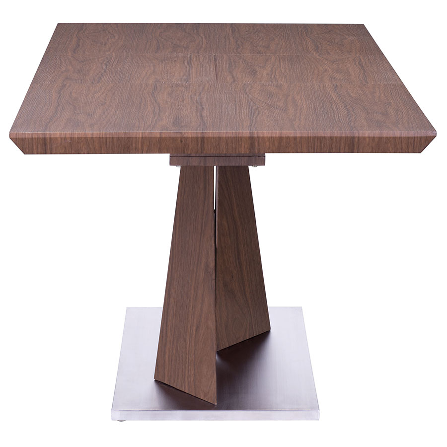 Jackson Extension Dining Table - End View