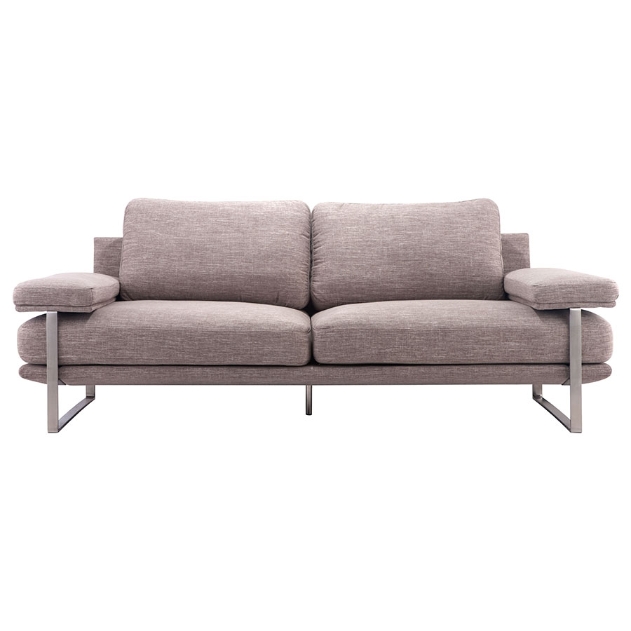 Jamal Wheat Contemporary Sofa