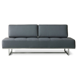 James Contemporary Sleeper Sofa in Menswear Griffin