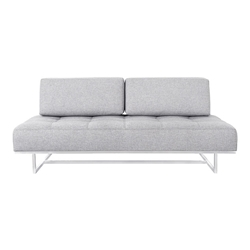 James Contemporary Sleeper Sofa in Parliament Stone by Gus* Modern