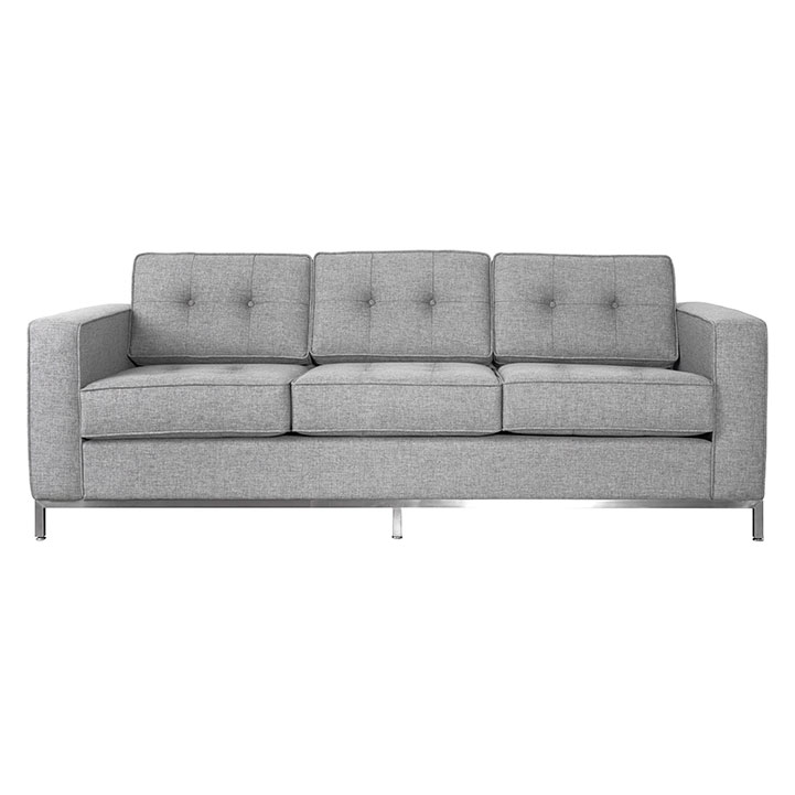 Jane Contemporary Sofa in Parliament Stone by Gus! Modern