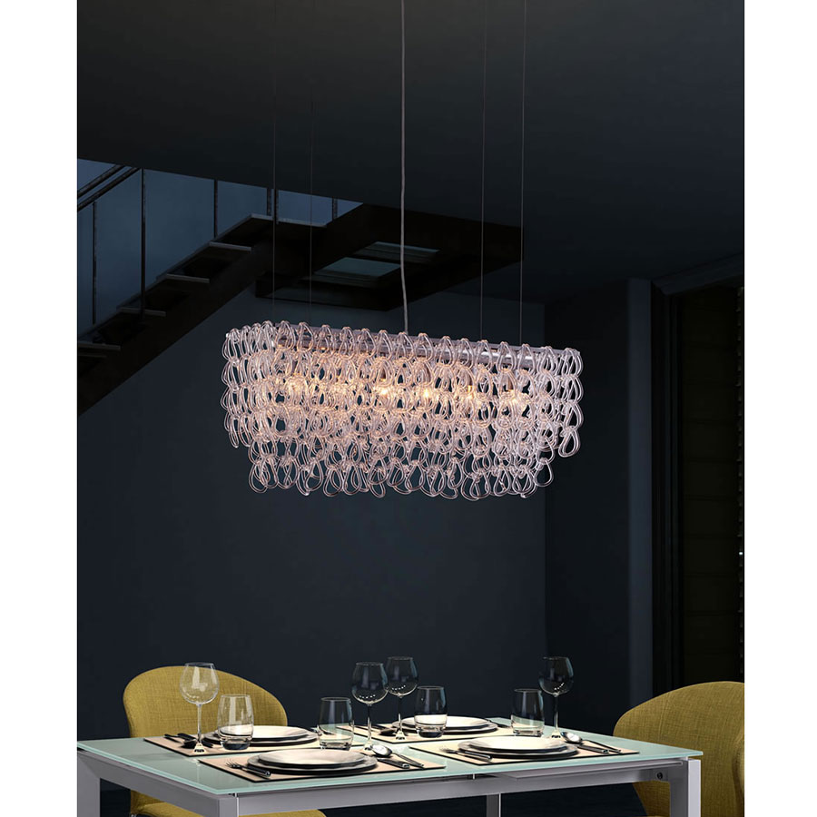 Janek Contemporary Hanging Chandelier