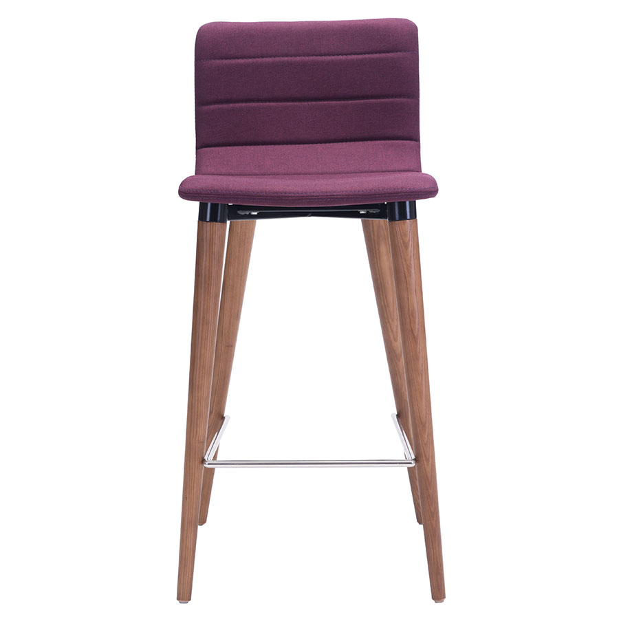 Modern Counter Stools Jaron Purple Stool Eurway : jaron counter stool purple front from www.eurway.com size 900 x 900 jpeg 49kB