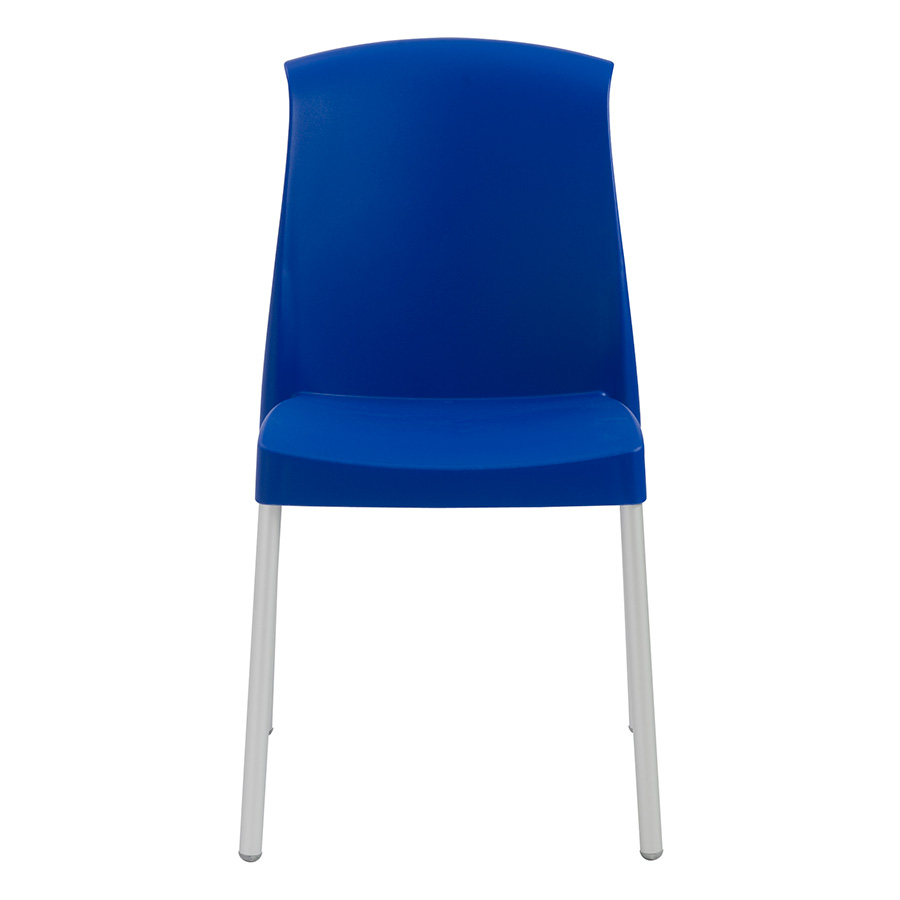Jenny Blue Contemporary Stacking Chair