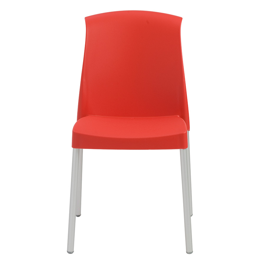 Jenny Red Modern Stacking Chair Eurway Furniture