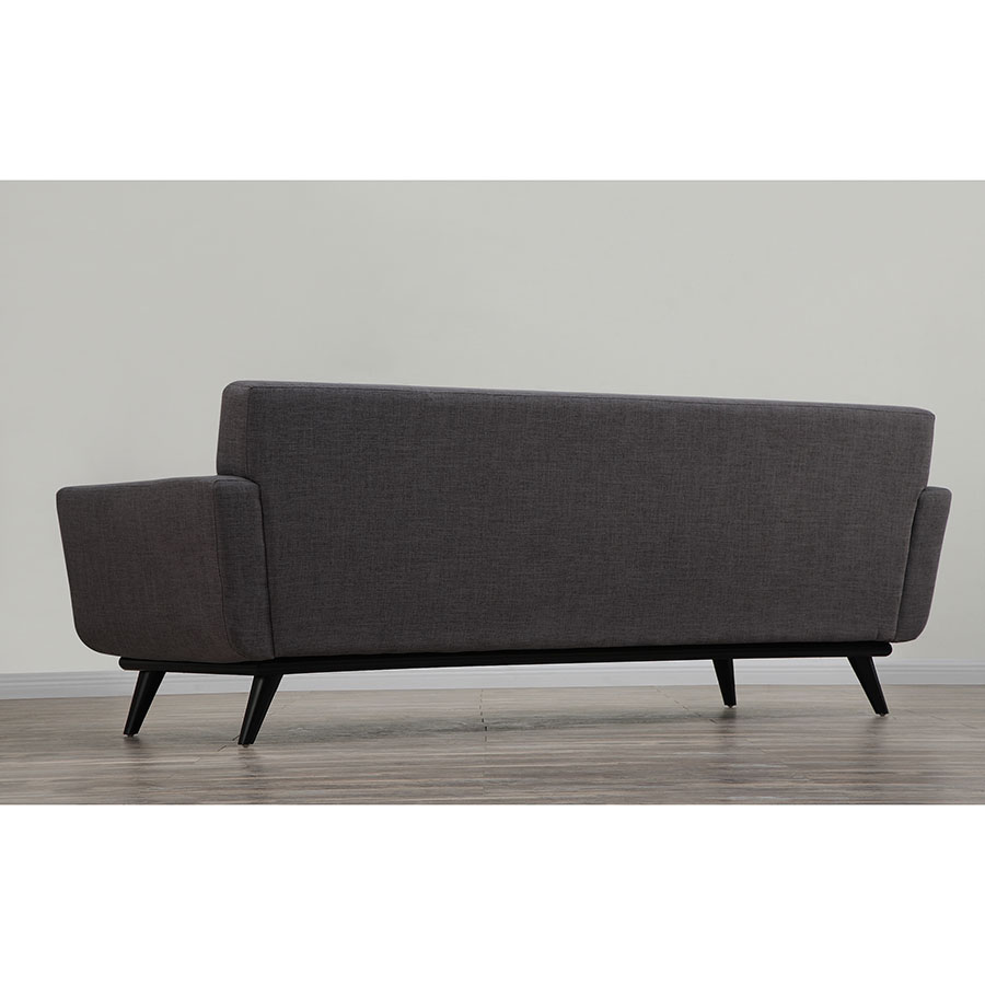 Modern Sofas Jerome Gray Linen Sofa Eurway