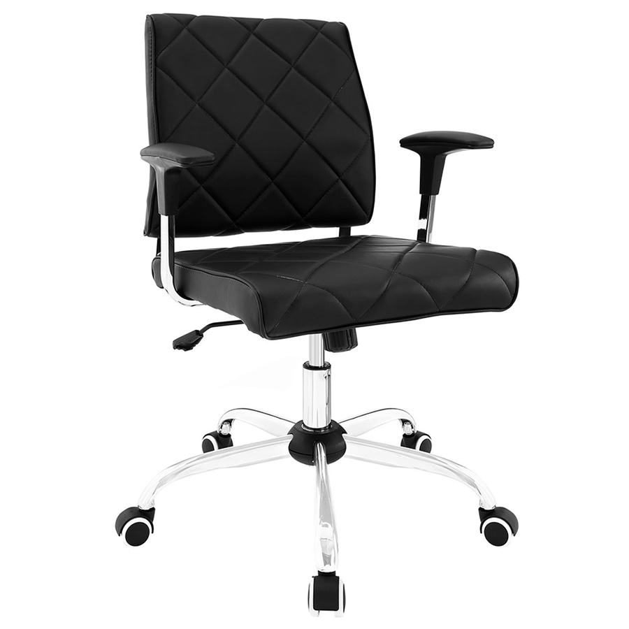 Ladera Modern Black Office Chair