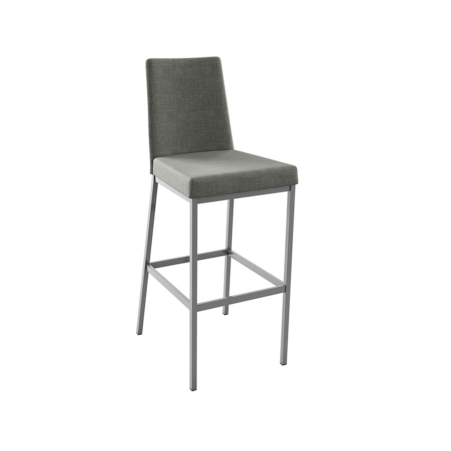 Laird Modern Counter Stool in Magnetite and Ritzy