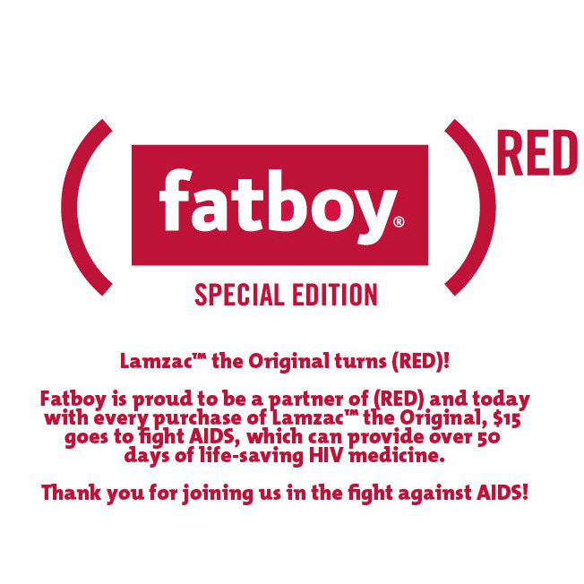 Fatboy Lamzac Aids Initiative