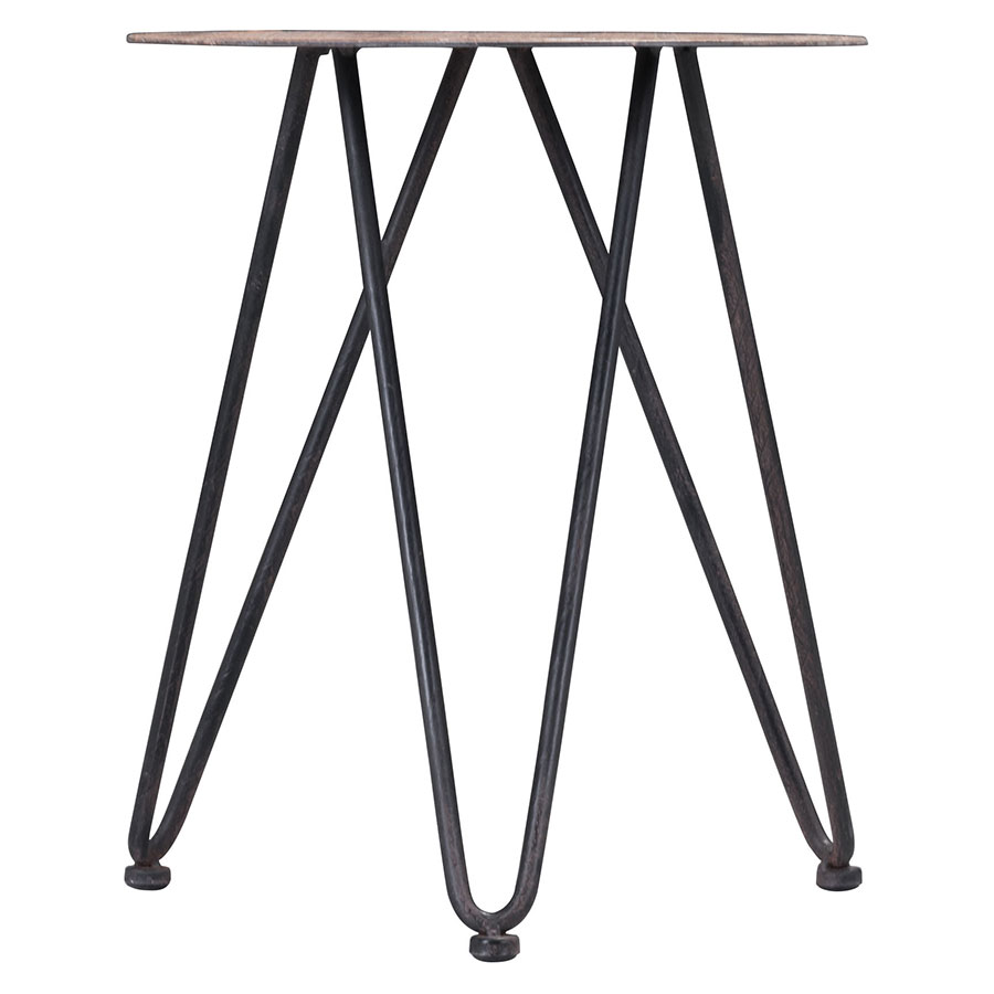 Larson Modern Side Table - Base Detail
