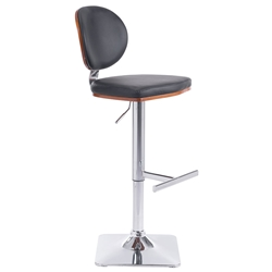 Lauritzen Black Modern Adjustable Stool