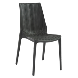 Lennox Anthracite Modern Dining Chair