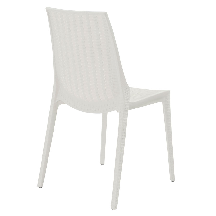 Lennox Linen Indoor + Outdoor Contemporary Dining Chair