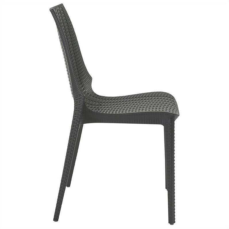 Lennox Modern Dining Chair - Side View