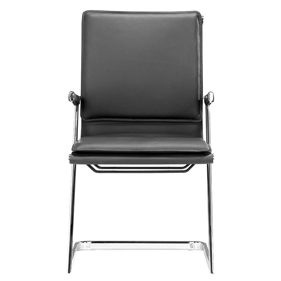 Lider Black Modern Conference Chair