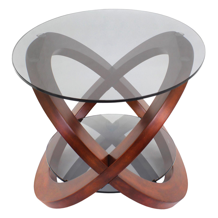 Lillian Modern Cocktail Table - Side View