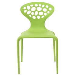 Lilly Green Modern Dining Chair