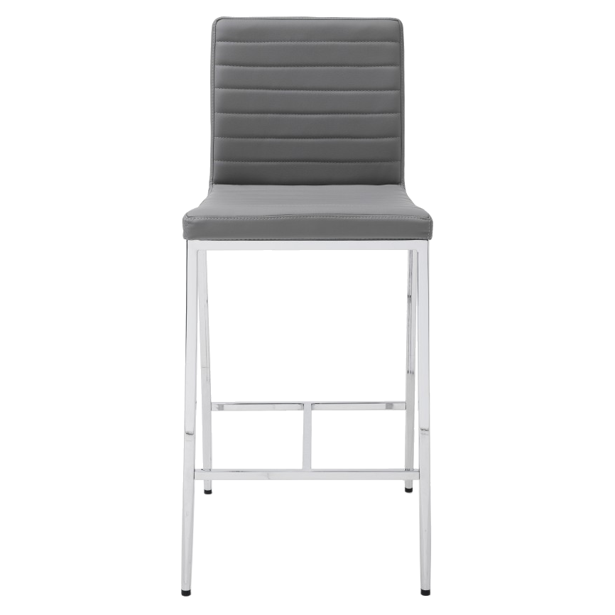 Lily Gray Contemporary Counter Stool