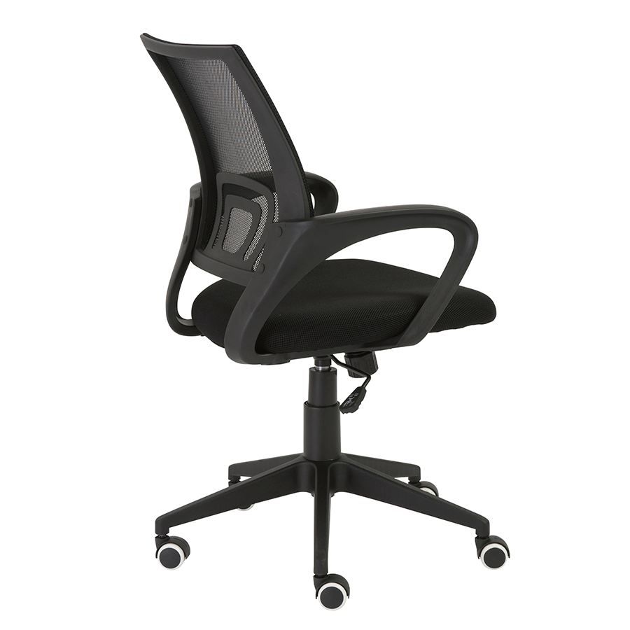 Machiko Black Mech Contemporary Office Chair