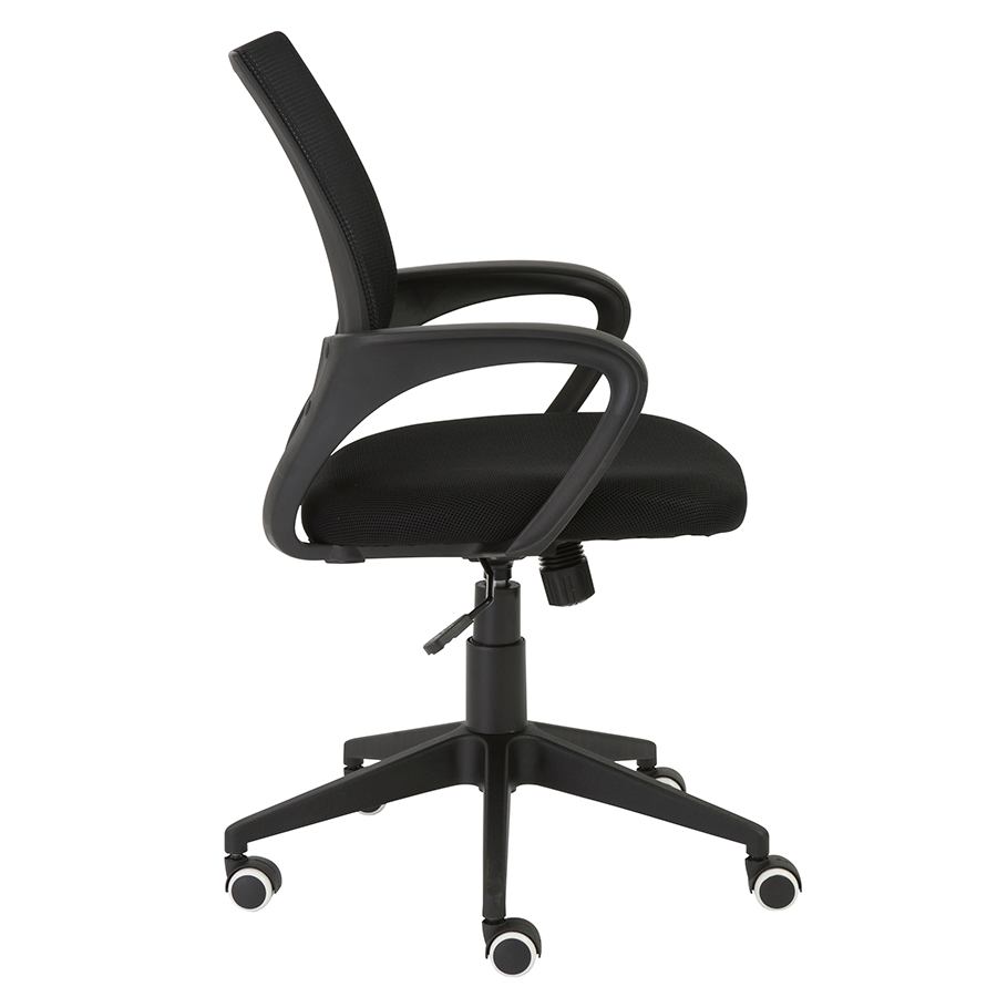 Machiko Black Mesh Modern Office Chair