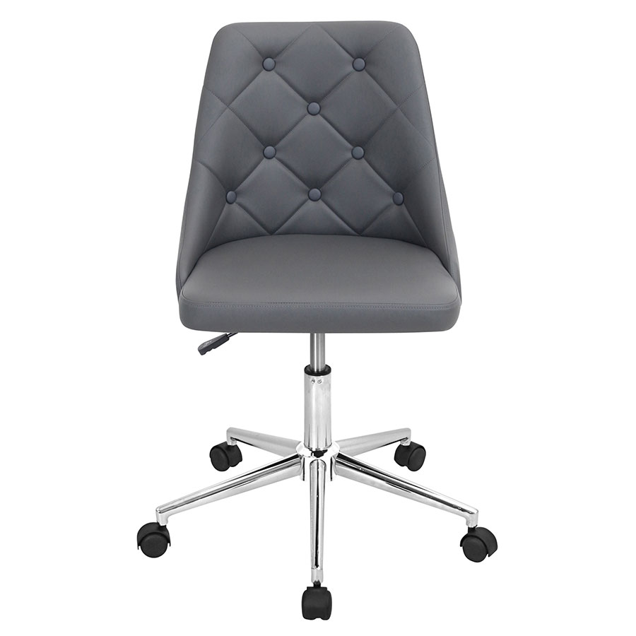 Mackenzie Gray Contemporary Office Chair