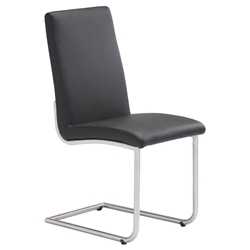 Madero Modern Dining Chair in Black