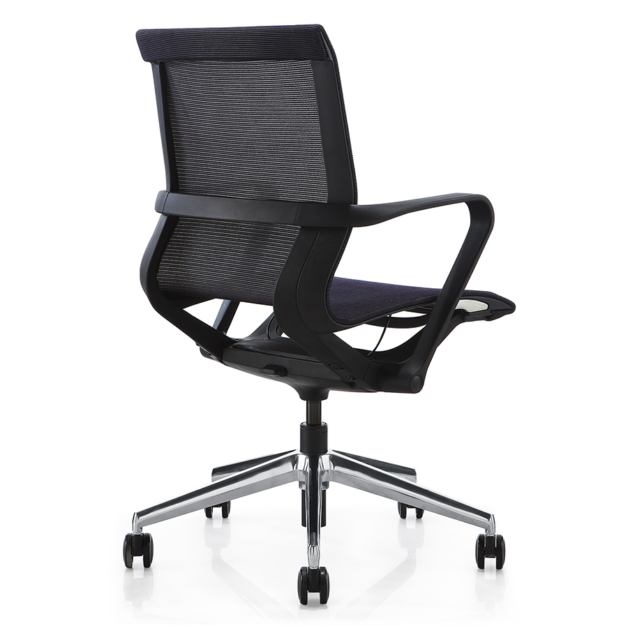Maggie Black Modern Office Chair