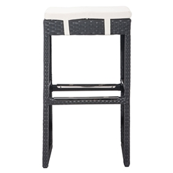 Makoto Contemporary Outdoor Bar Stool