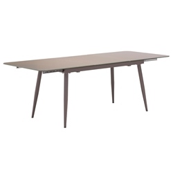 Malcolm Modern Glass Extension Table