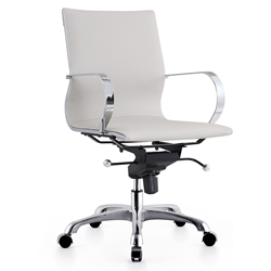 Malone Gray Modern Office Chair