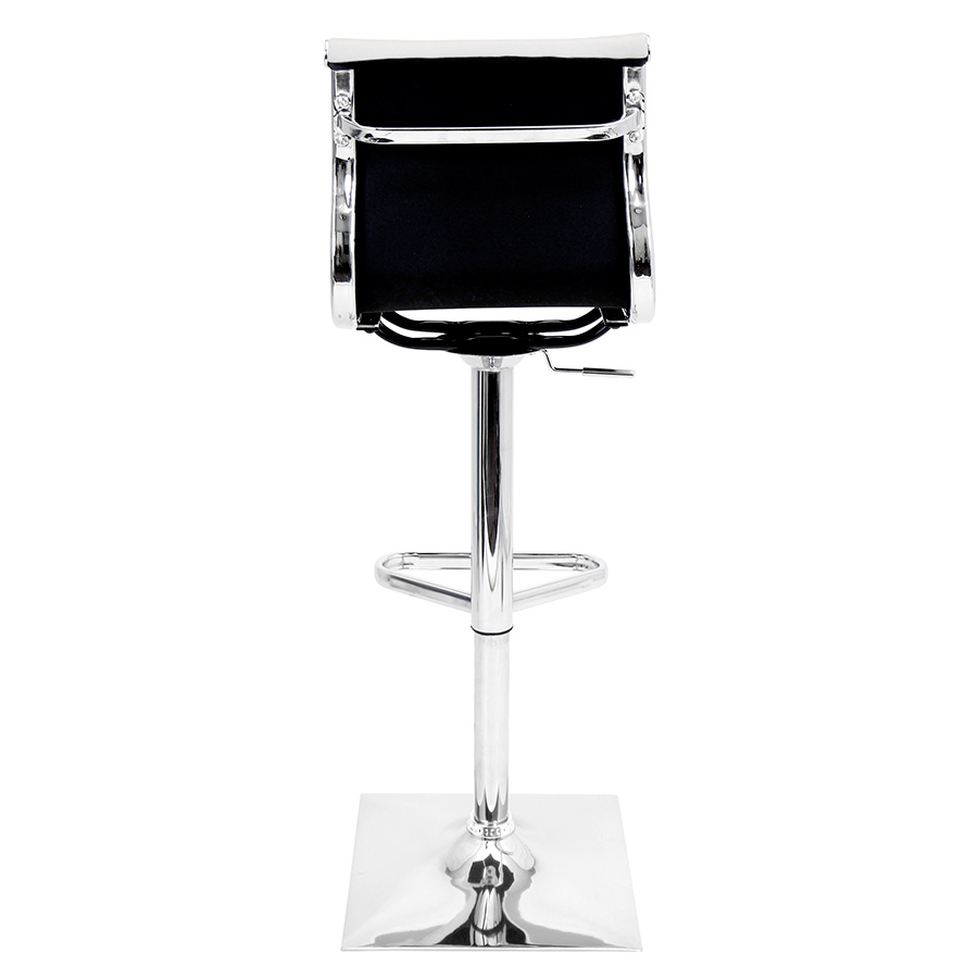 Manheim White Modern Adjustable Stool