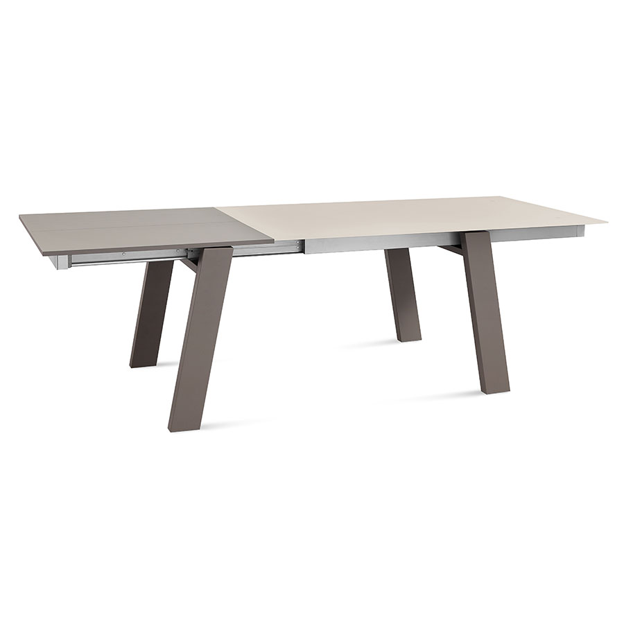 Manjula Taupe Modern Extension Table
